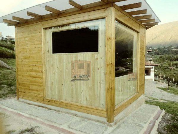 Sauna en madera para exterior-min